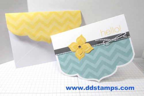 Stampin' Up! Happy Hello Simply Sent 004
