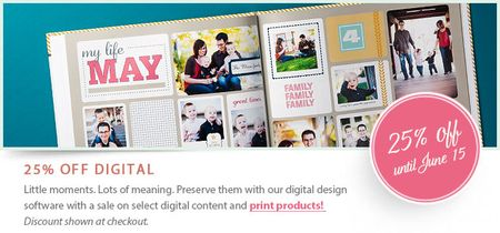 Stampin' Up! 25% off My Digital Studio