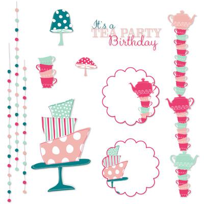 Stampin' Up! Wonderland Party My Digital Studio embellishments