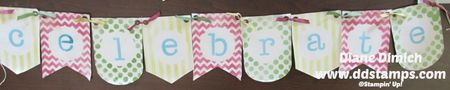 Stampin' Up! Build a Banner