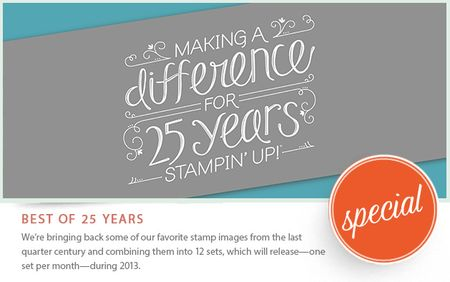Stampin' Up! Best of 25 years