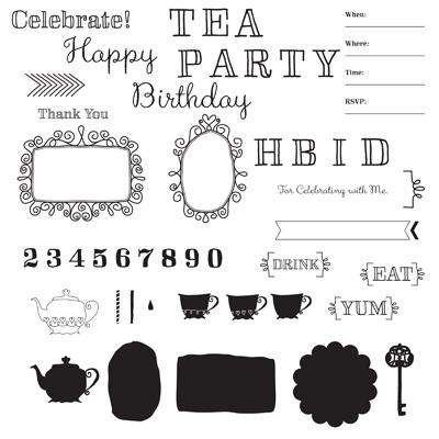 Stampin' Up! Wonderland Party My Digital Studio stamp brush