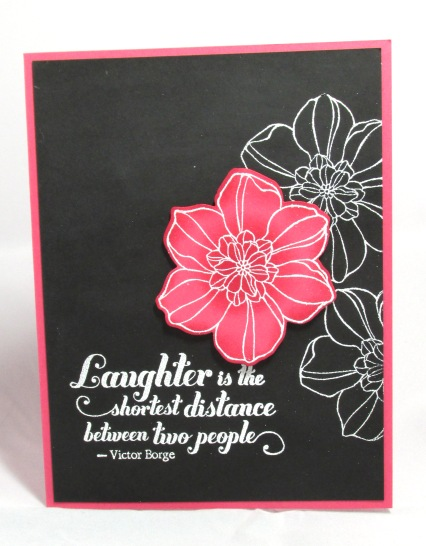 Stampin' Up! club project