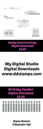 Stampin' Up! My Digital Studio Birthday