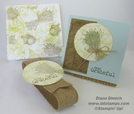 Stampin' Up! Truly Grateful Box and Card