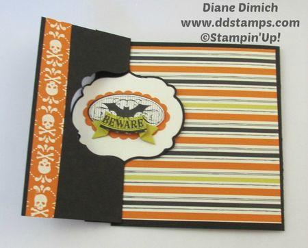 Stampin' Up! Halloween Bash Thinlit Greeting card