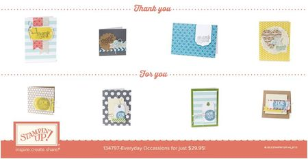 Stampin' Up! Everyday Occasions 3