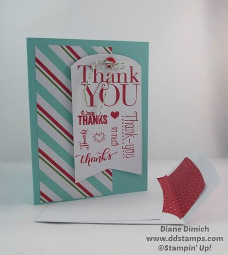 Stampin' Up! Merry Christmas Another Thank you