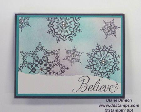 Stampin' Up! Snowflake Soiree stamp set