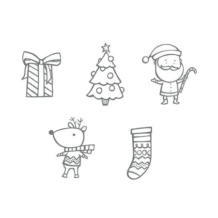 Stampin up my digital studio color me christmas