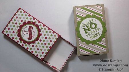 Stampin' Up! Envelope Punch Board Matchbox