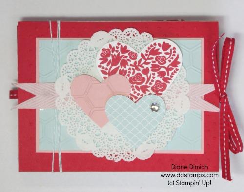 Stampin' Up! Sweetheart Treat Bags Scrapbook