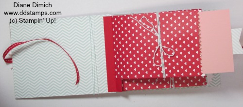 Stampin' Up! Sweetheart Treat Bags Open 2