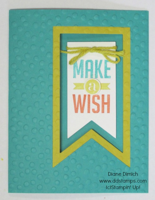 Stampin' Up! Perfect Banners:Banner Framelits